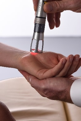 Chiropractic Missouri Valley IA Wrist Laser Therapy